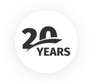 20 Years Expertise